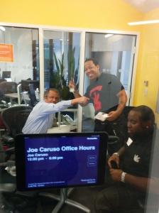 JoeCaruso office hours